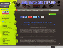 Tablet Preview of aldershotmodelcarclub.net